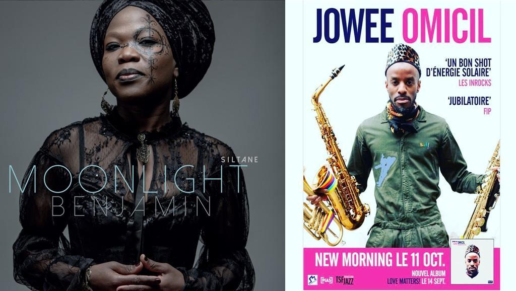 Session live entre Jowee Omicil & Moonlight Benjamin